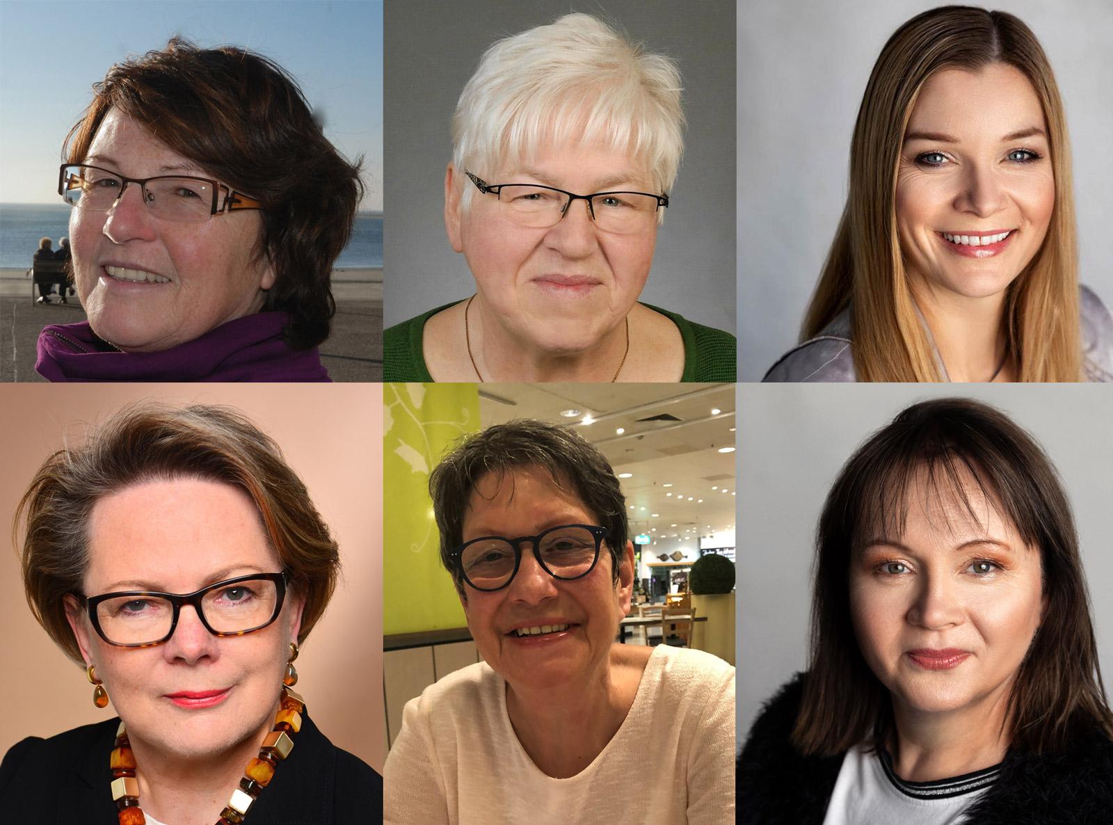 """6 Frauen, die das Projekt """"Zeitreise Magdeburger Recht"""" entwickelt und realisiert haben."""